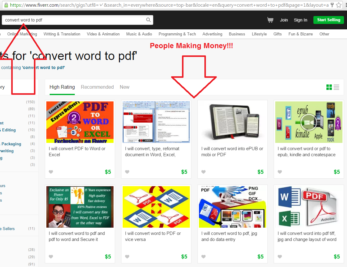 3 Easy Steps To Begin Making Money Fast with Fiverr